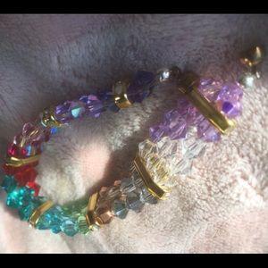 """Crystal Spectrum"" Swarovski Crystal Bracelet"